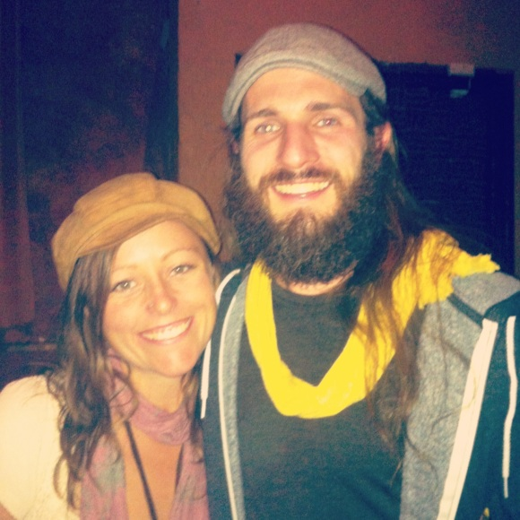 Maybe some would argue that not ALL good things pass through the Bluebird Theater in Denver, but over the years a whole lot of fabulous bands--and fabulous beards--sure have. Meet Brian and his bodacious beard.  Brian and his lovely girlfriend Caley recently moved from Hawaii to Boulder and we met them before the Rob Drabkin concert at the Bluebird last Friday. Originally from Texas, Brian hasn't shaved his beard in the past seven years, and shows true dedication by working on his beard 24/7 (we probably don't need to mention that men with beards are especially witty). He's always doing something interesting with his beard, and in his other spare time he's an LSAT teacher, a massage therapist, and dabbles in music himself; an example of a true multi-talented bearded dude. Caley, who works as a doula, of course loves and supports Brian's awesome beard.  We wouldn't expect anything less from a bearded man's main lady.  Great to meet you and have you and your beard in Colorado!