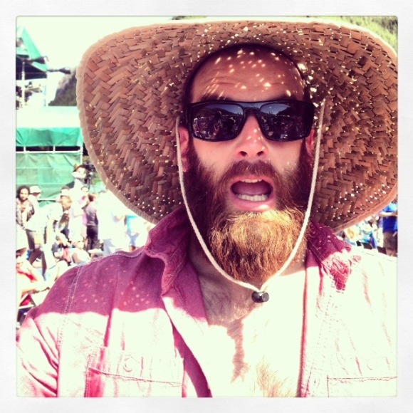 The B of D went on a spiritual journey last weekend and traveled to Telluride (aka beard mecca) for the 40th anniversary of the Telluride Bluegrass Festival. Oh boy, get ready for some fun festival beards! We kick off our T-town special with a return visit from one of B of D's favorite beards. Remember Coleman? Manly name, manly beard? We were lucky enough to bluegrass jam with Coleman and his bearded crew for much of the weekend. Coleman is known for having one of the best beards in Denver, having possibly the most fabulous sweetheart in Denver (she's a big supporter of the bearded cause) and he loves to protect the beautiful Rockies by occasionally putting out a wild fire or two. Thanks for saying 'no' to the razor, Coleman. No one works that bearded magic quite like you do!