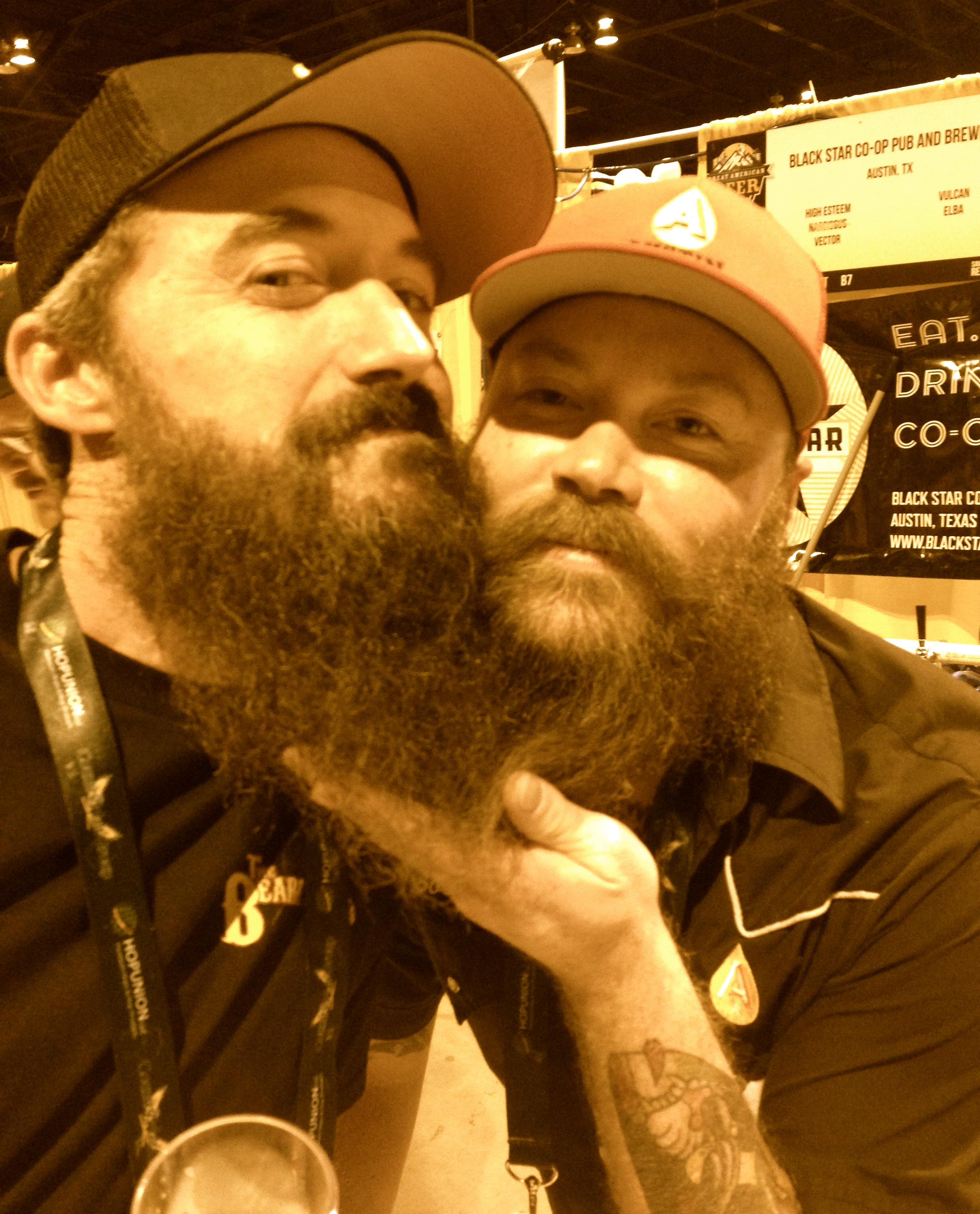 Craft Beer Can Beard